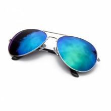 Green Revo Aviator Sunglasses