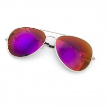 Purple Revo Aviator Sunglasses