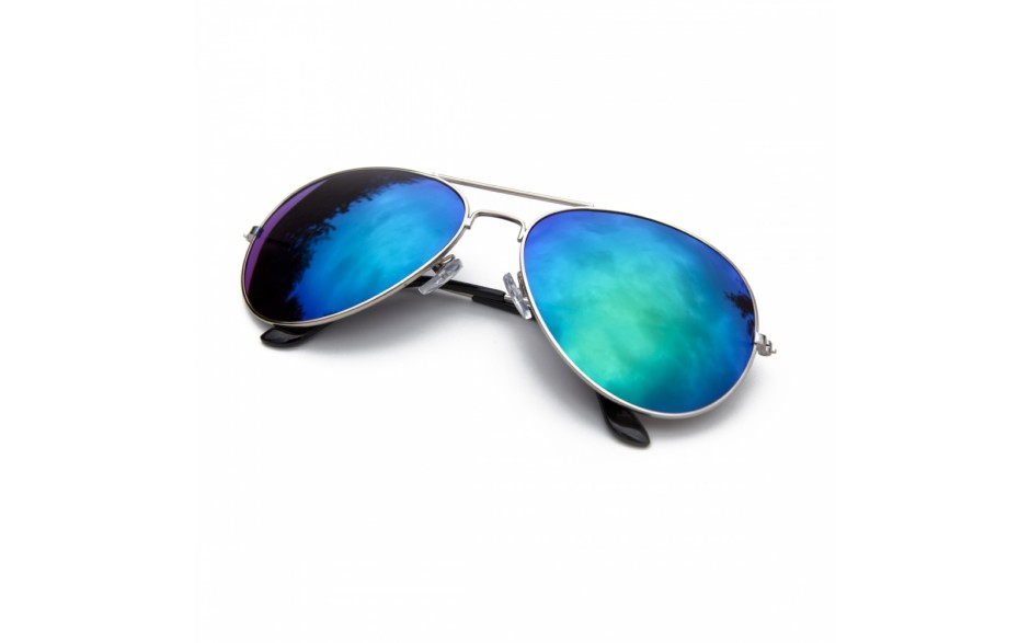 Green Revo Aviator Sunglasses