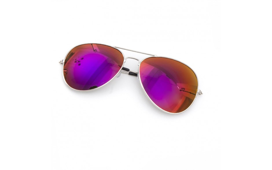 Purple Revo Aviator Sunglasses